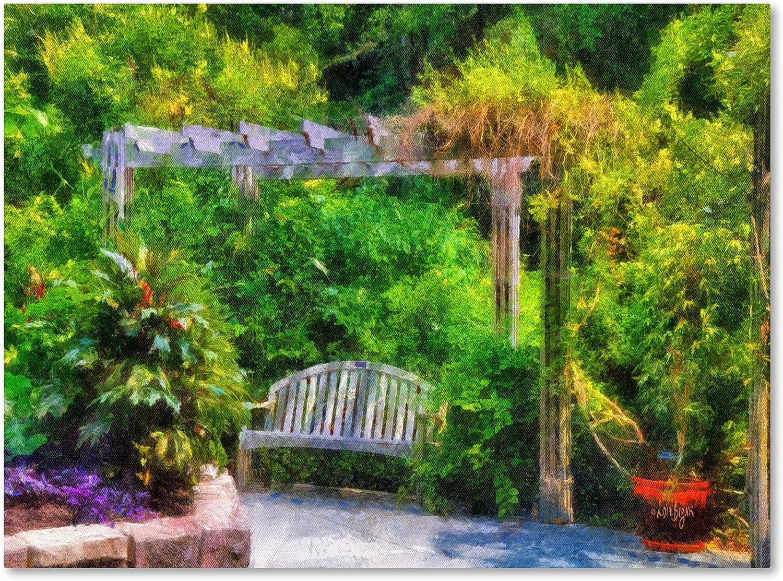 Marca Fine Art Descanso Retreat Lienzo por Lois Bryan, 14 by 19