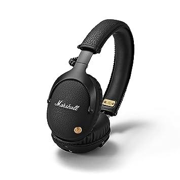 Marshall Headphones MONITOR BLUETOOTH マーシャル ヘッドホン モニター ブルートゥース ワイヤレス ブラック  [並行輸入品]