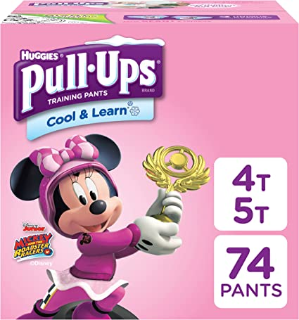 Pull-Ups Cool /& Learn Training Pants for Boys 38-50 lbs. 4T-5T 56 Count.