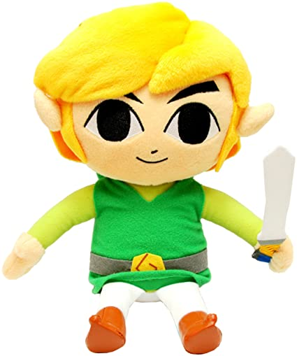 Amazon.com: Legend Of Zelda: Enlace de peluche plush – 12 ...