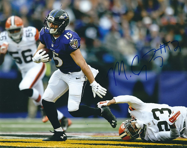 Autographed Michael Campanaro 8x10 Baltimore Ravens Photo at Amazon s  Sports Collectibles Store de3343717