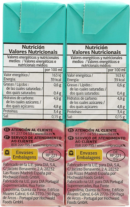 DIA batido fresa pack 6 unidades 200 ml: Amazon.es: Alimentación y bebidas