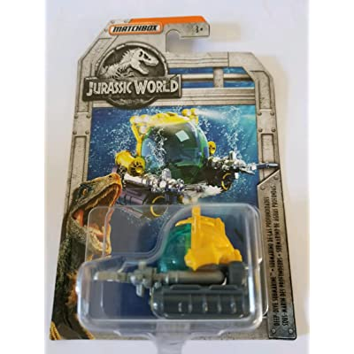 2020 Matchbox Jurassic World Limited Edition - Deep Dive Submarine: Toys & Games