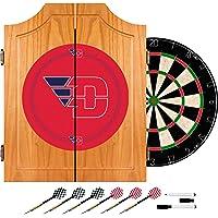 NCAA Dayton Dart Gabinete con tabla y Dardos