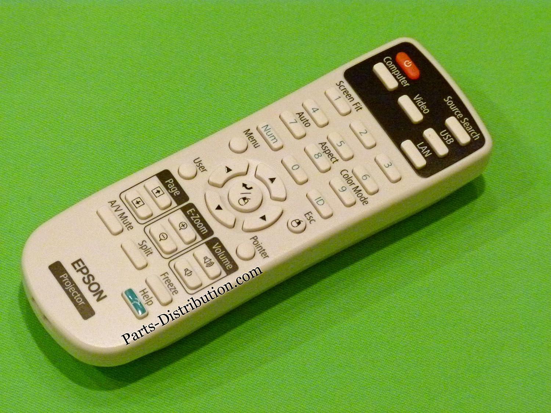 Amazon.com: NUEVO Control Remoto Epson Proyector 1566090 ...