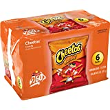 Cheetos Crunchy Cheese Flavored Snacks, 1 oz Bags, 6 Count