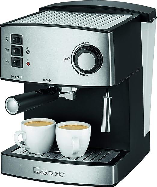 Clatronic ES 3643 - Cafetera Espresso 15 Bares: Clatronic: Amazon ...