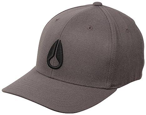 e4f5a34cd Amazon.com: NIXON Deep Down Hat - Charcoal/Black: Clothing