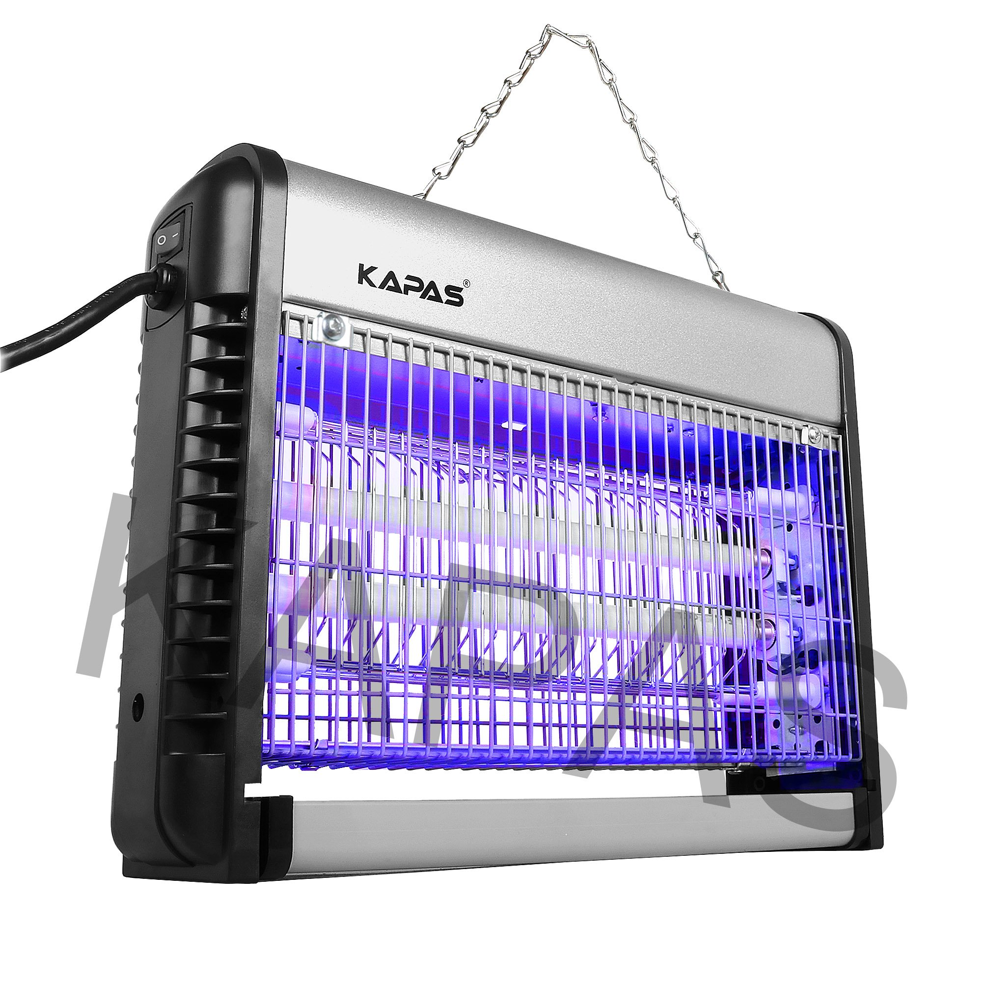 Kapas Mosquito Killer, Electric Mosquito Zapper Indoor Night Lamp, Mosquito Control, Mosquito Trap, Bug Zapper, Insect Zapper, Ideal for Indoor Home&Commercial Use 20W Bulbs (1, 13 x 11 x 4 inch) by Kapas
