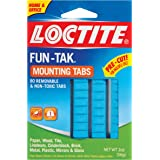 Loctite Fun-Tak Mounting Putty Tabs, 2-Ounce, 12-Pack (1865809-12)