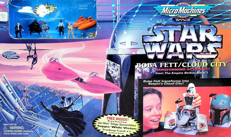 Boba Fett//Cloud City Star Wars Episode I MicroMachines