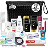 Convenience Kits International Women's Premium 21-Piece Assembled Necessities Travel Kit, Featuring: L'Oreal Paris Hair…