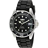 Invicta Men's Pro Diver Automatic-self-Wind Watch with Stainless-Steel Strap, 19 (Model: Black)