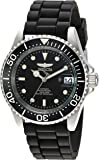 Invicta Men's Pro Diver Automatic-self-Wind Watch with Stainless-Steel Strap, Black, 19 (Model: 23678