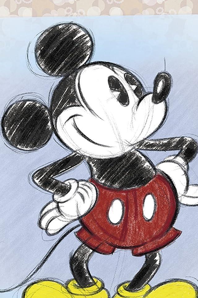 ディズニー ミッキーマウス iPhone(640×960)壁紙画像