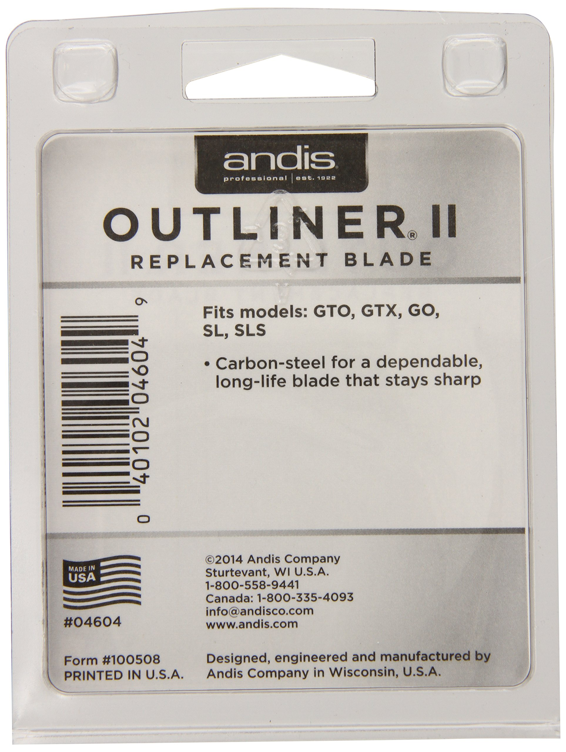 Andis Outliner II Trimmer Replacement Blade Set