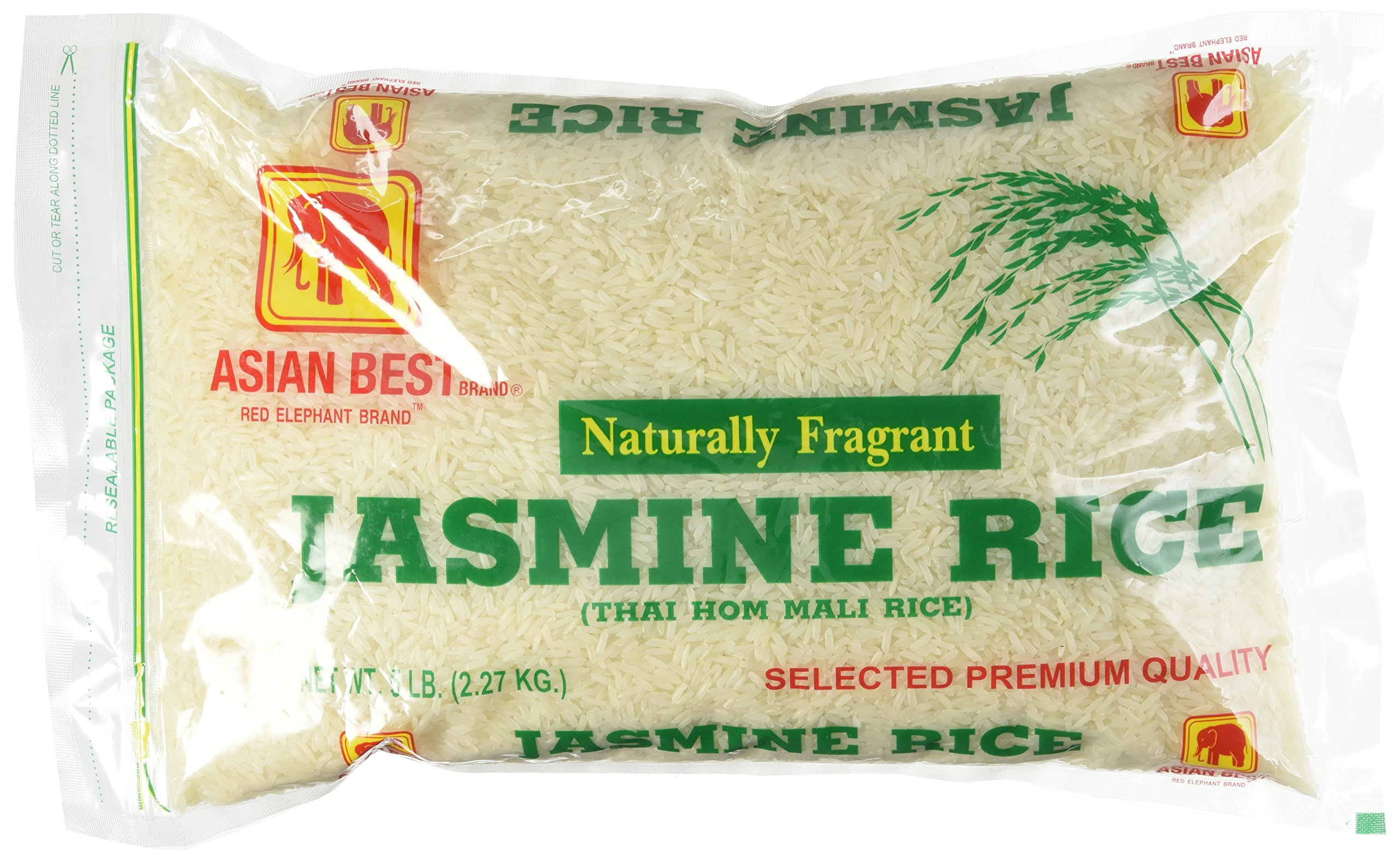 Amazon com : Asian Best Jasmine Rice, 25 Pound : Grocery & Gourmet Food