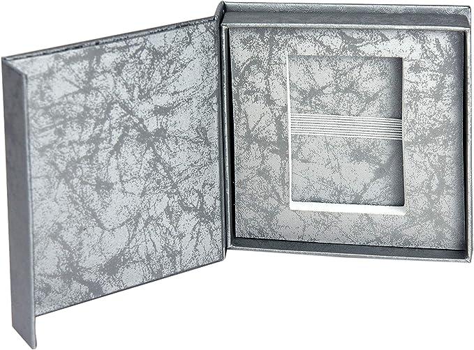 dor/é Blanc Perle Blanche Noir argent/é. Bo/îtier USB /él/égant pour Mariage avec fen/être dimage