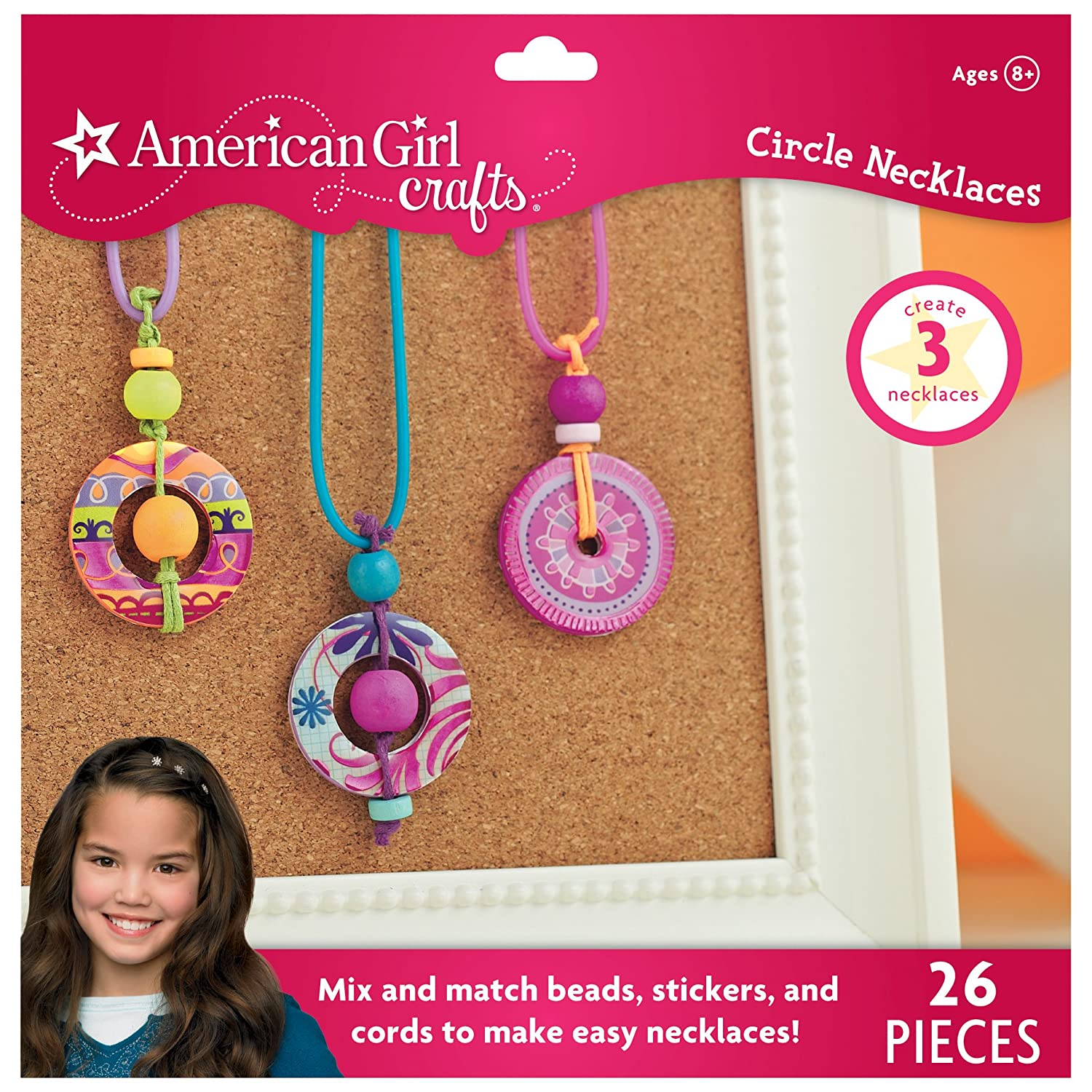 american girl ideas crafts american crafts circle necklaces kit toys toys 3336