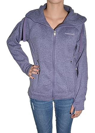 Avalanche Ladies' Full Zip Sweater Knit Fleece Jacket, Light ...