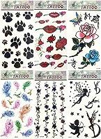 6 sheets temporary tattoo stickers Fake Tattoos Sticker