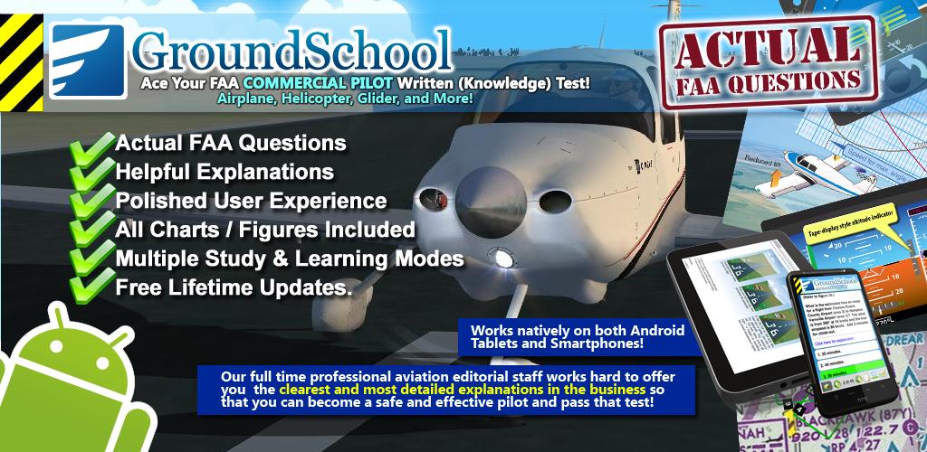 FAA Commercial Pilot Written Test Prep