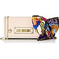 Love Moschino Grain PU, Sac à bandoulière Femme, 15x10x15 Centimeters (W x H x L)