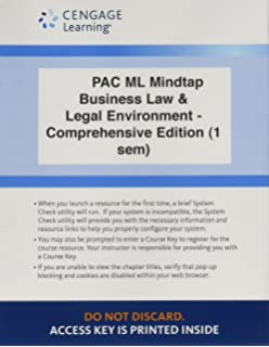 Bundle andersons business law and the legal environment lms integrated for mindtap business law 1 term 6 months printed access card fandeluxe Image collections