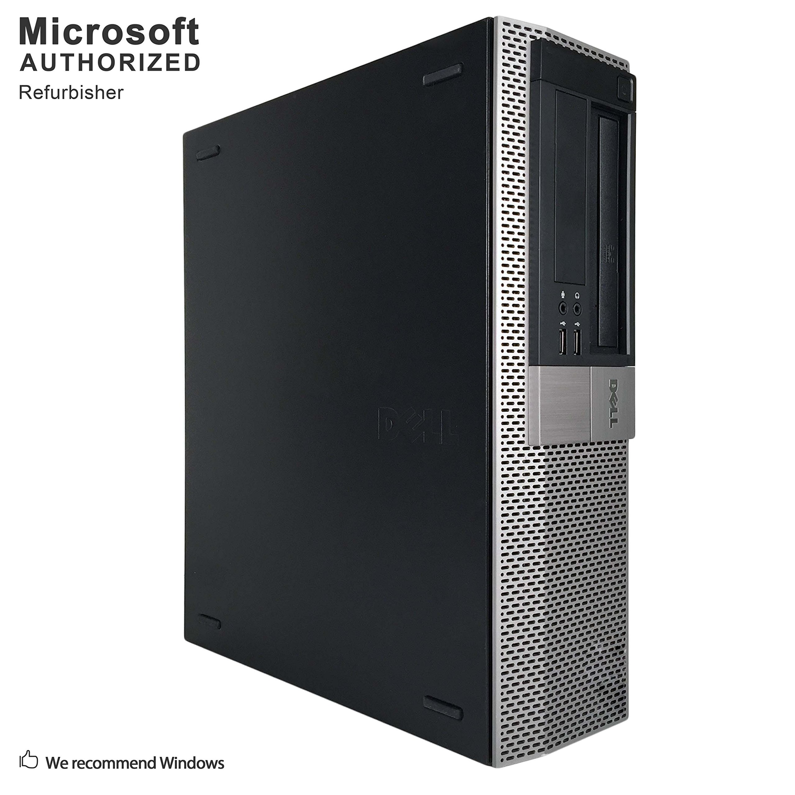 Dell 980 Business High Performance Desktop Computer PC (Intel CORE I7 870 2.93G,8G RAM DDR3,500G HDD,DVD,Windows 10 Professional)(Certified Refurbished) (Ci7 8G 500G Windows 10)