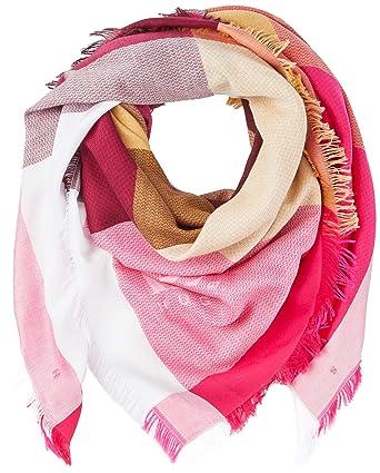 a04de3dd8b05 BOSS Nalogo, Echarpe Femme, Rose (Bright Pink 670), Unique (Taille ...