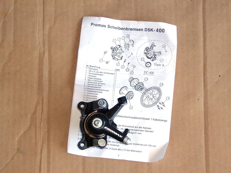 Promax DSK 400 Bicycle Disc Brake: Amazon.co.uk: Sports & Outdoors