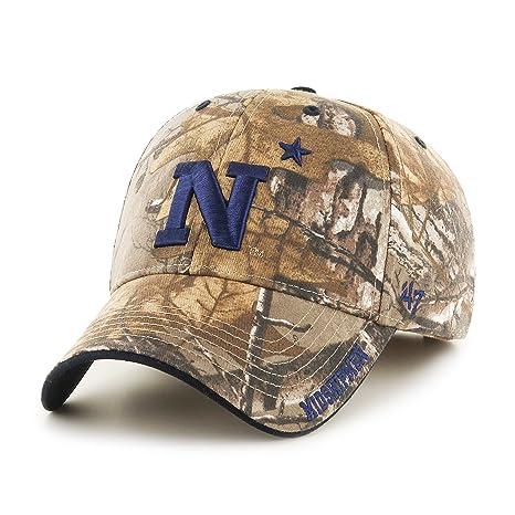 dc85be6aba784 Amazon.com    47 NCAA Navy Midshipmen Realtree Frost MVP Adjustable ...
