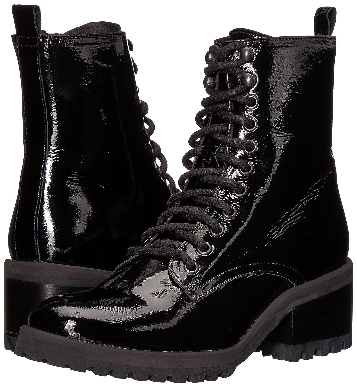 Steve Madden Women's Geneva Combat Boot B075Y8QZJL 7.5 B(M) US Black Patent
