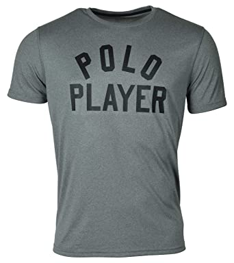 8bb45457 Polo Ralph Lauren Men's Performance Polo Player Thermovent Short Sleeve T  Shirt at Amazon Men's Clothing store: