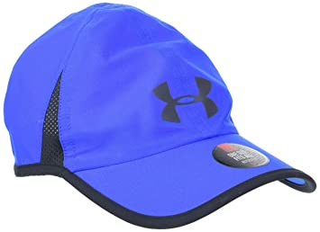 competitive price 1a044 7b8b8 Under Armour Men Shadow 4.0 Curved Brim Cap, Blue (Blue Marker), One