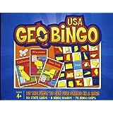 GeoBingo USA - Educational Geography Board Game