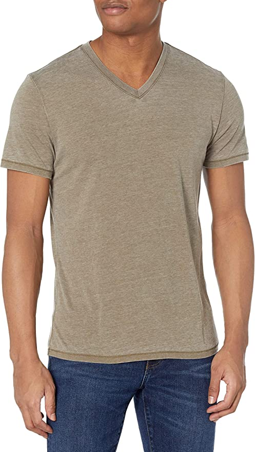 Lucky Brand Men S Venice Burnout V Neck Tee Shirt Amazon Com