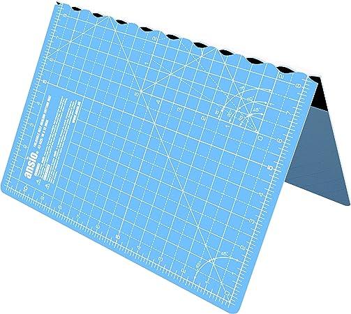 ANSIO Alfombra de corte plegable autocurativa A3. Ideal para Manualidades, Acolchados, Costura, Albumes de recortes, Telas y Papercraft - Imperial - 17 pulgadas x 11 pulgadas - Azul cielo…: Amazon.es: Hogar