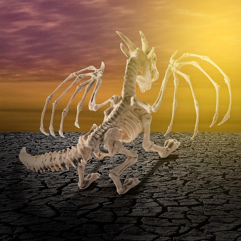 Dragon Halloween Decorations.Prextex Dragon Skeleton Bone White Halloween Decorations Collectible Figurines Home Decor Accents Guardebem Com