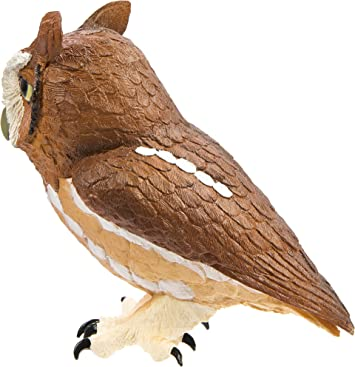 Eastern Screech Owl by Safari Ltd//New 2013//toy// 263429//Incredible Creatures