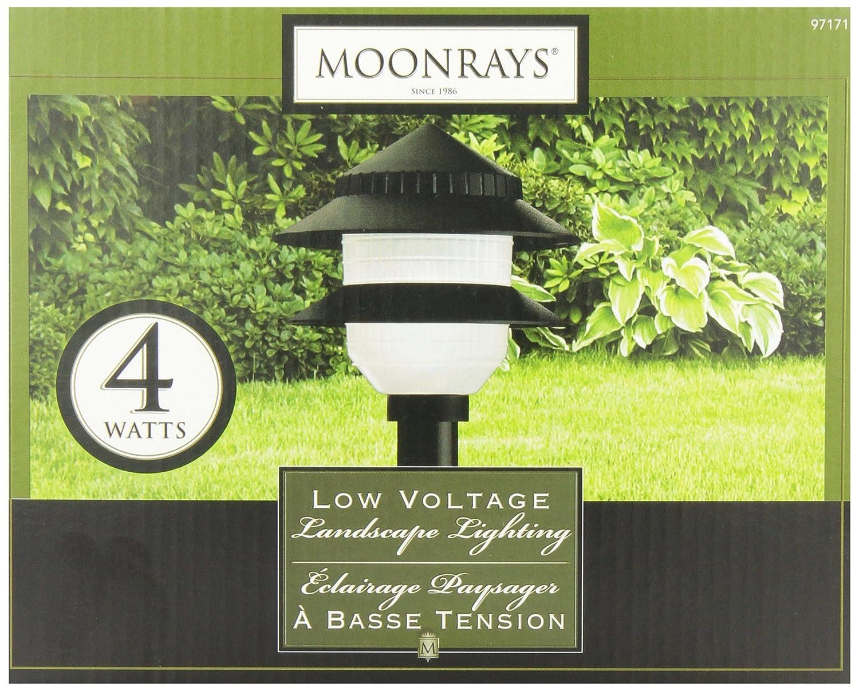 Moonrays 97171 Outdoor Garden Path Plastic Tiered Lamp Accessory