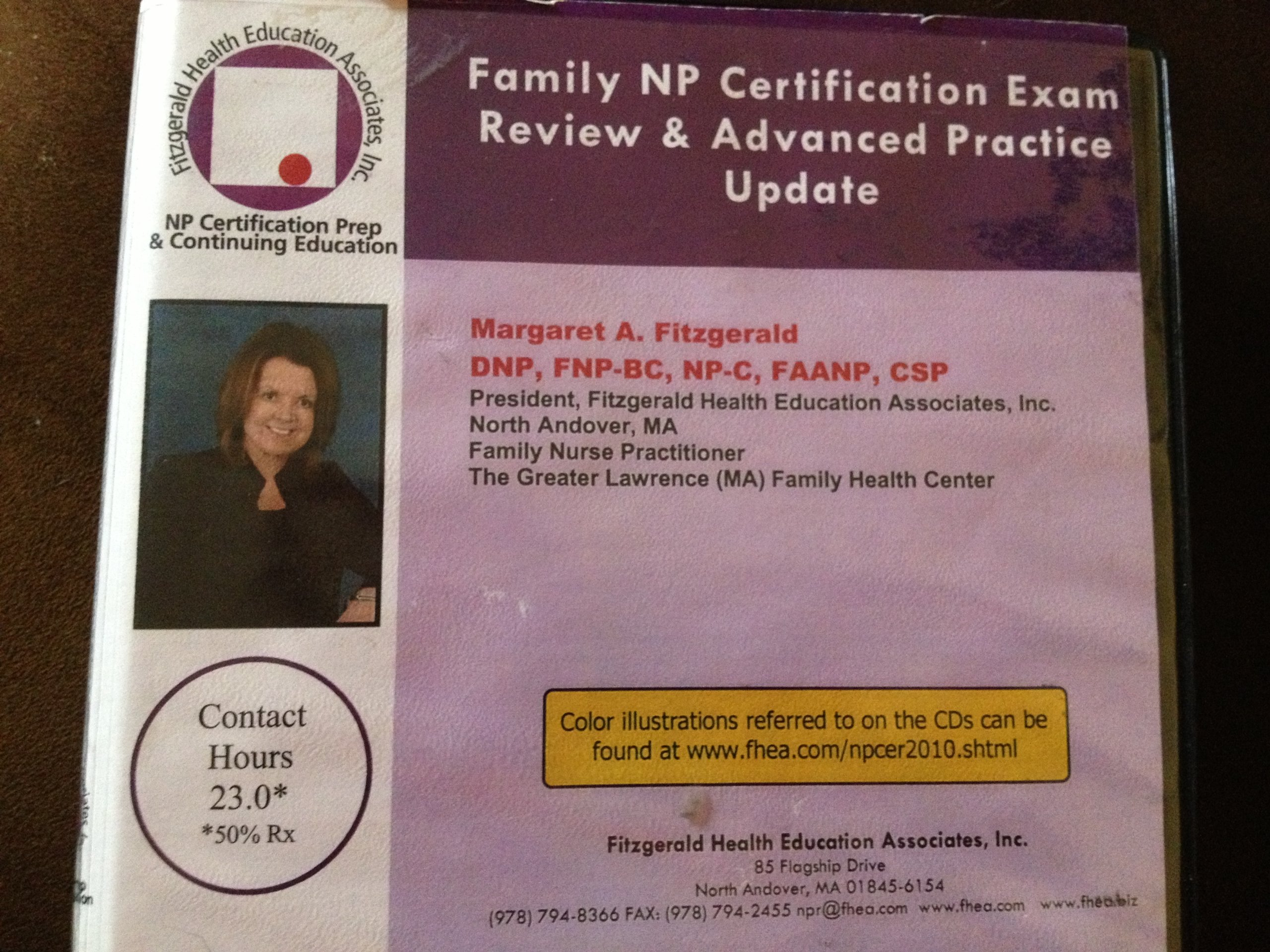 Fitzgerald Nurse Practitioner Certification Exam Review Cds