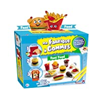 Dujardin - Ma Fabrique A Gommes Pack M Fast Food Jouet-36103