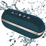 INSMY Portable Bluetooth Speakers, 20W Wireless Speaker Loud Stereo Sound Rich Bass, IPX7 Waterproof Floating Stereo Pairing