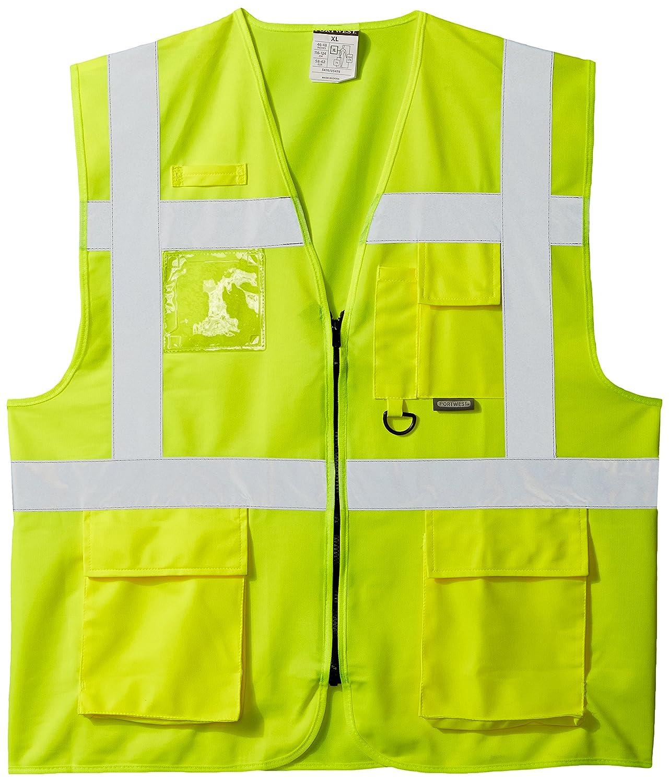 Yellow 2X-Large Portwest S476YERXXL Hi-Vis Vest
