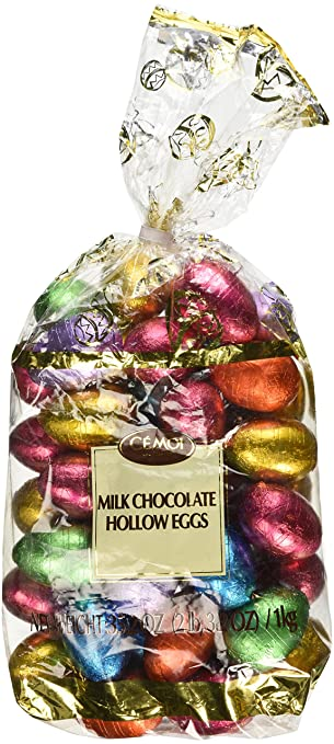 Amazon cemoi chocolatier milk chocolate hollow easter eggs cemoi chocolatier milk chocolate hollow easter eggs easter gift present pack negle Image collections