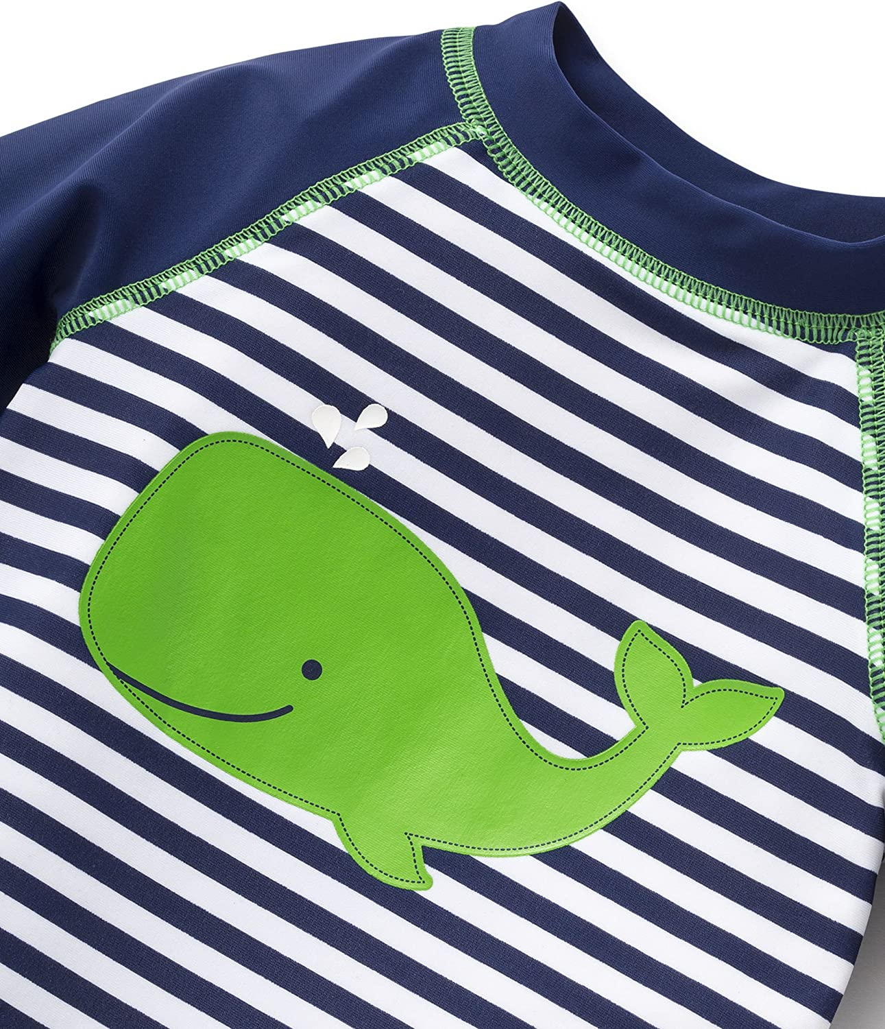Short Sleeve Rashguard Swim Shirt Little Me Childrens Apparel Baby and Toddler Boys UPF 50