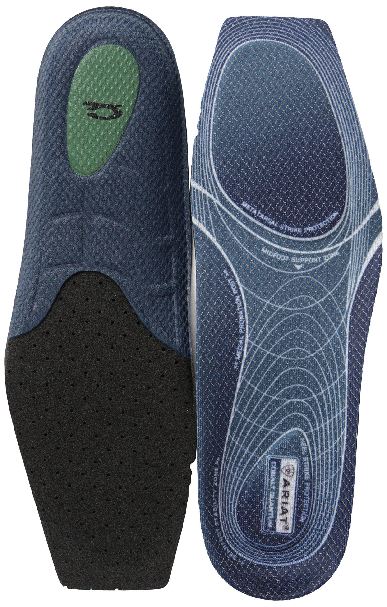Ariat Men's Quantum Footbed Wide Square Toe-A10008003, multi, 9.5