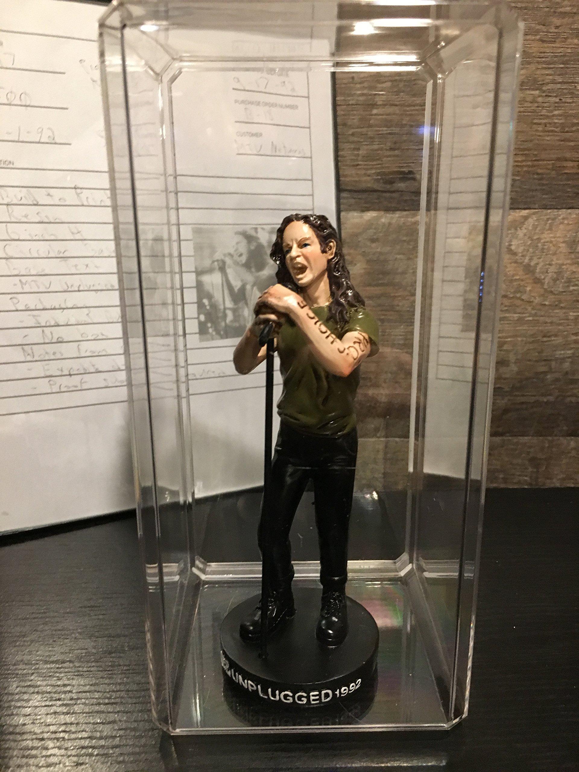 MTV Unplugged Pearl Jam Figurine with Display Case – 1992 Rare