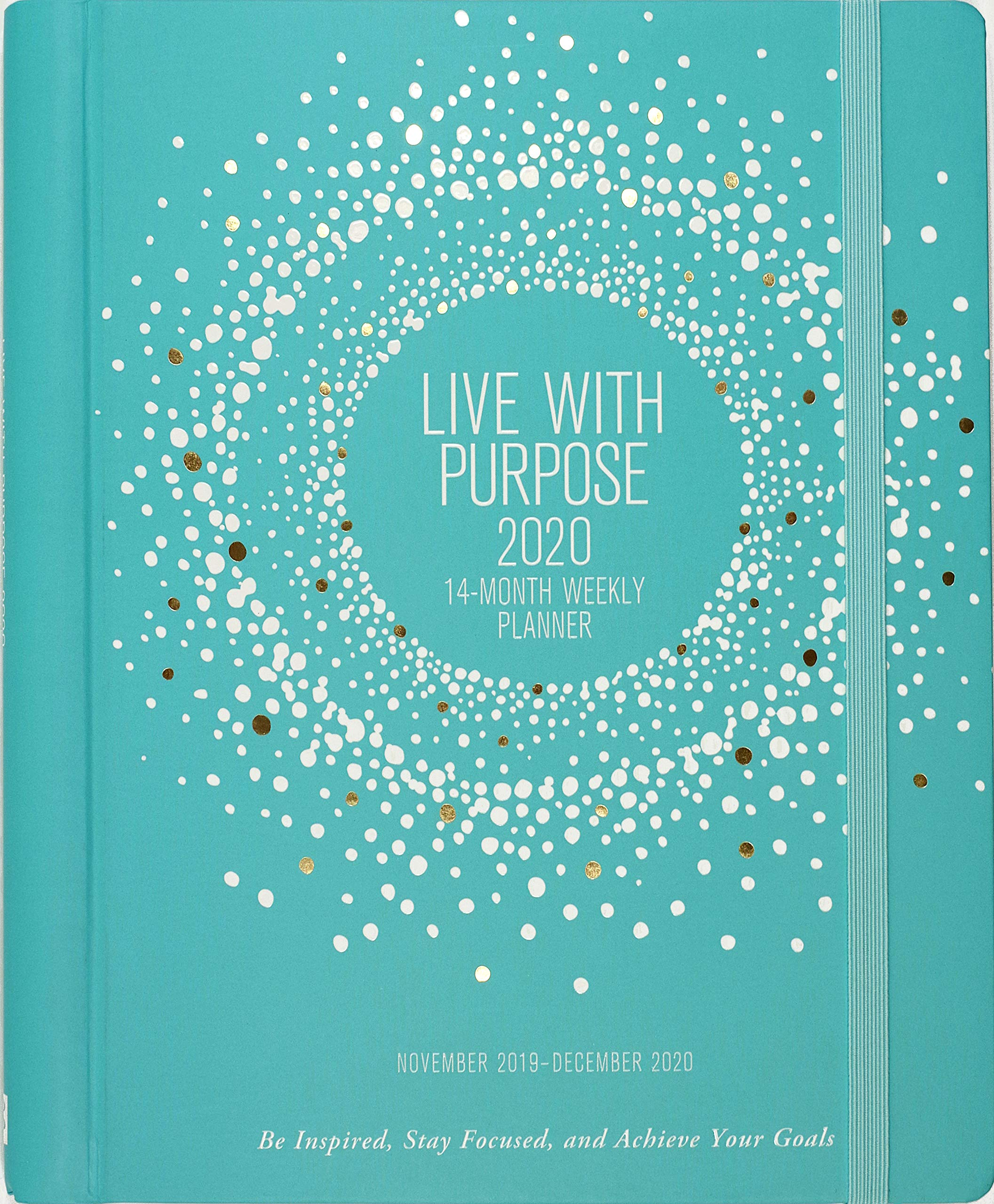 2020 Live with Purpose Weekly Planner (14-Month Engagement ...